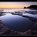 Tidal pools Muriwai