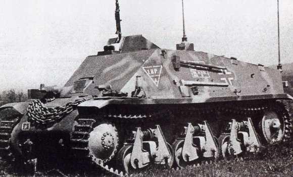 Artillerie Panzerbeobachtungswagen auf 38H(f)