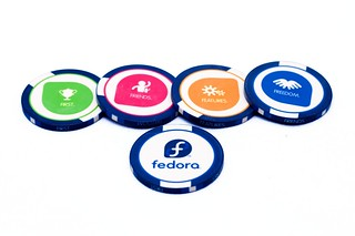 Fedora Poker Chips #2