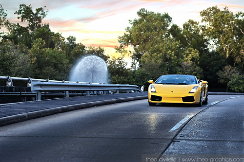 2006 Lamborghini Gallardo Spyder - Wortham Fountain