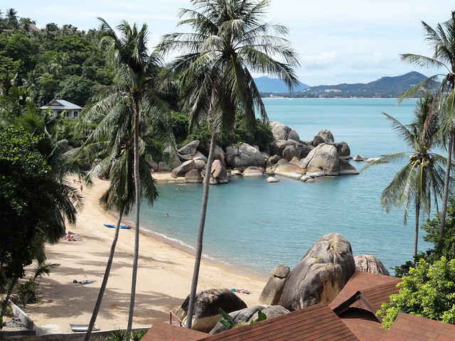 Koh Samui, Coral Cove Beach by CC user travelourplanet on Flickr