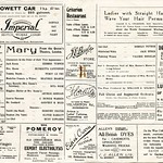 Theatre Royal programme 23-09-1922, pages 6-7