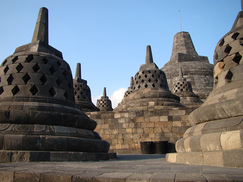 Java ~ Borobudur by Vasenka