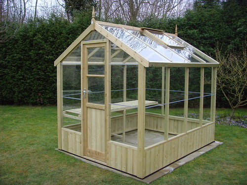 Swallow Wooden Greenhouse 8x6