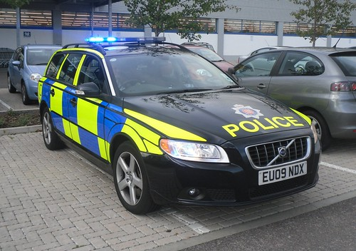 Essex Police / Volvo V70 / Traffic Vehicle / CT02 / EU09 NDX