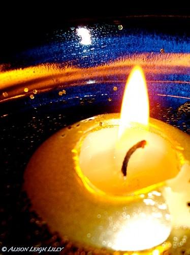 Imbolc Candle