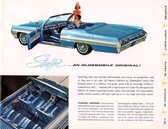 1962 Oldsmobile Starfire Magazine Display Advertisement