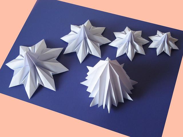 Origami, moduli per l'Abete 3