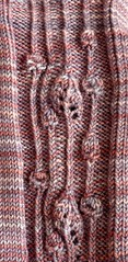 faux cables art nouveau mackintosh scotland original knitting stitch pattern