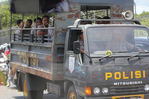 Police (Polisi) Bali Indonesia