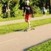 Skater sur l'anneau du Battlefields Park