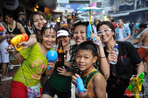 Songkran in Bangkok