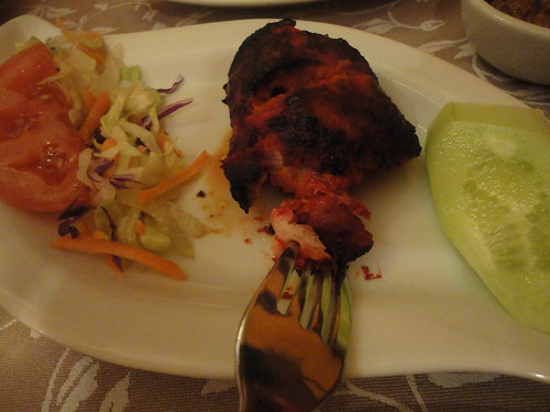 Pollo tandoori del Taj