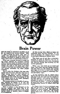 Vintage Ad #1,694: Obey the Man with Brain Power!