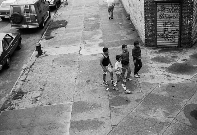 Da Boys- NYC, 1987 (Marcelo Montecino)