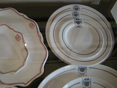 wheel(0.0), dishware(1.0), plate(1.0), tableware(1.0), saucer(1.0), ceramic(1.0), circle(1.0), porcelain(1.0),