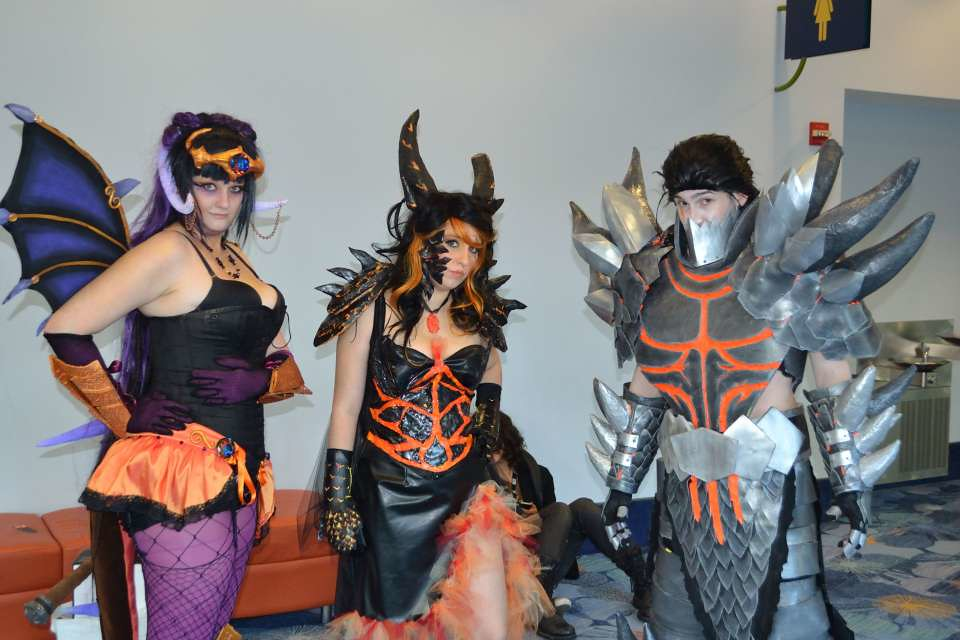Onyxia, Deathwing as a Female, and Deathwing - a photo on Flickriver