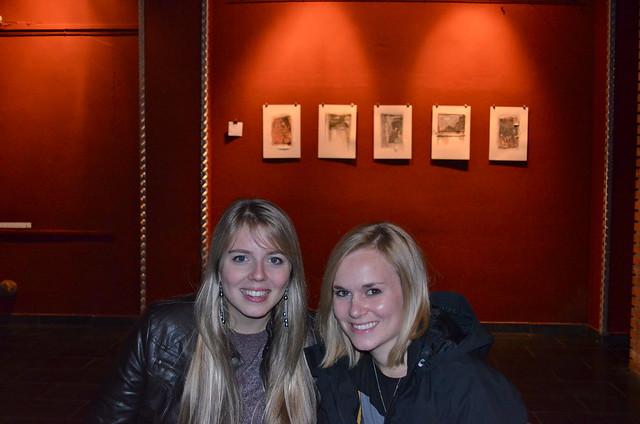 Lauren and Ashley at Circolo