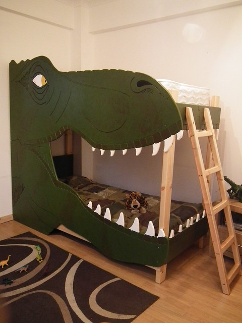 Dinosaur bunk bed | Flickr - Photo Sharing!