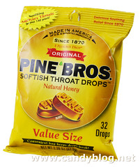 Pine Bros Softish Throat Drops - Natural Honey