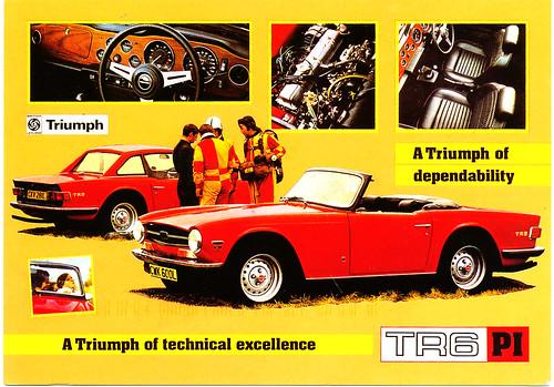 Triumph TR6 PI (1969)