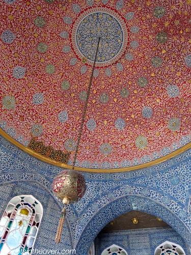 Decoration at the Baghdad Kiosk