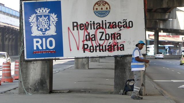 Movilización Rio de Janeiro.