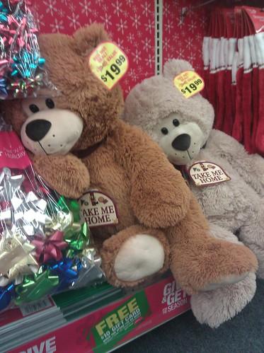 Seasonal toy display, CVS drugstore on Capitol Hill, November 19, 2011