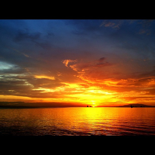Manila bay has one of the most beautiful sunsets in the ...