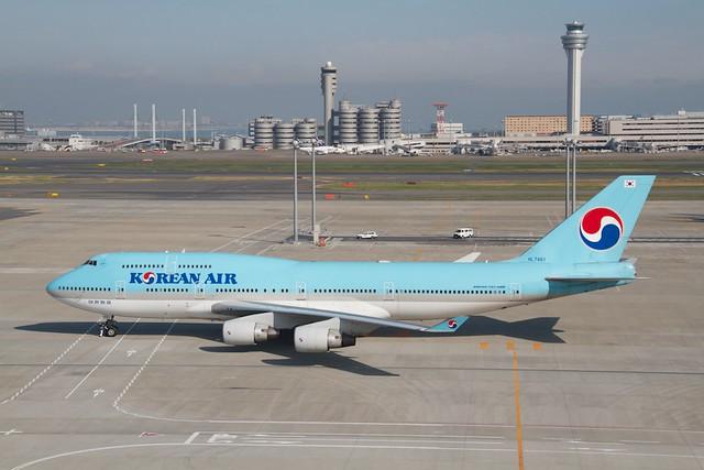 Korean Air B747-400