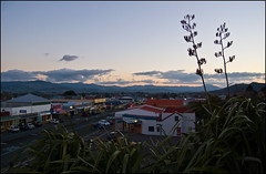 Waihi in the evening