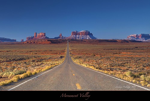 "Mile 13 - Monument Valley, Utah by Joalhi ""Around the World"""
