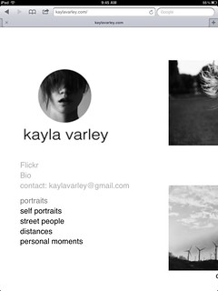 UPDATED WEBSITE- www.kaylavarley.com