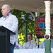 Small photo of Broadcaster Alan Jones address the Bowral crowd