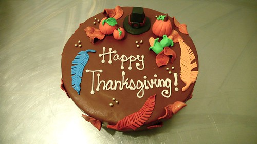 Thanksgiving Cake by CAKE Amsterdam - Cakes by ZOBOT
