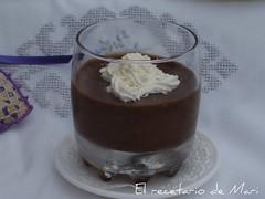 MOUSSE DE CHOCOLATE CON AROMA DE MENTA
