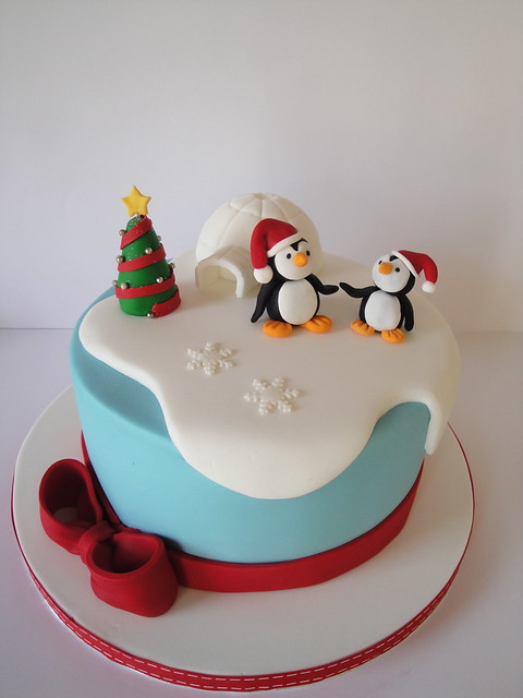 Christmas Cake Ideas With Penguins : Little Penguins Flickr - Photo Sharing!
