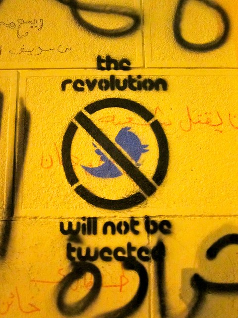 The revolution will not be tweeted..