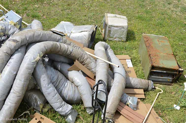 Putting in a new heating and air conditioning system