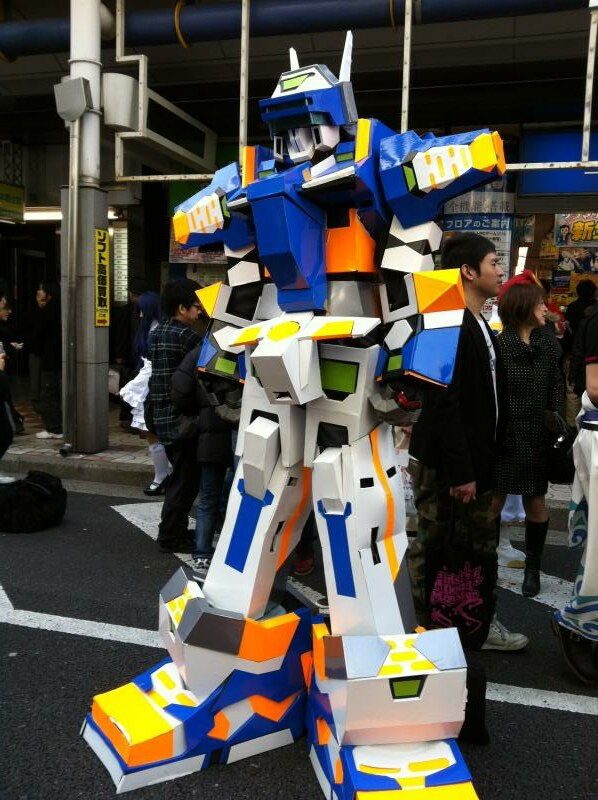 2012 Cosplay Street Festa @ Denden Town, Osaka