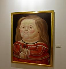 Maribarbola segun Velasquez - Botero Museum, Bogota, Colombia