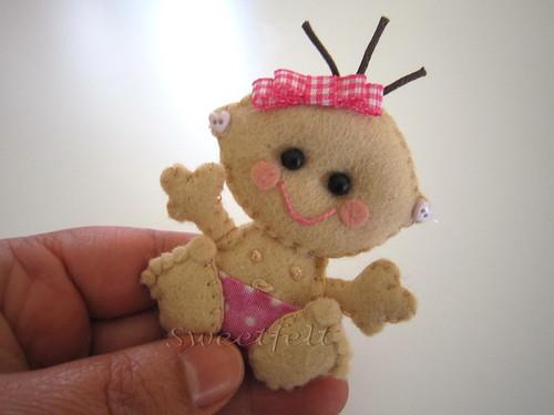 ♥♥♥ Baby ... by sweetfelt \ ideias em feltro