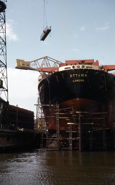 The stern of the Ottawa