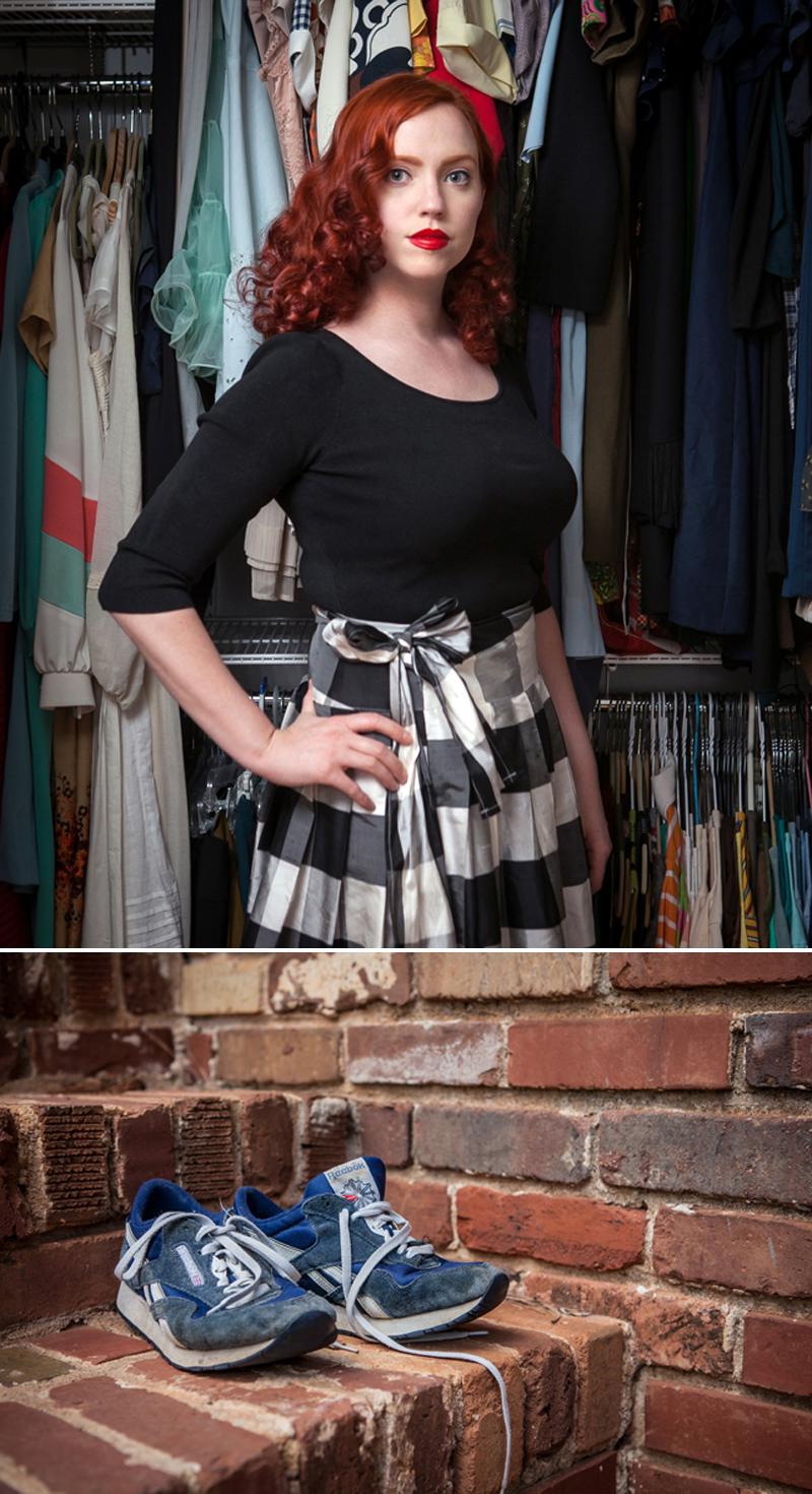 Karla Jean Davis closet shoes Glass and Sable Home Closet Tool Ciara Sames Jason Travis