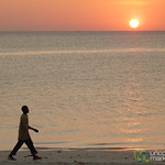 Walking Along Beach at Dusk - Kendwa, Zanzibar