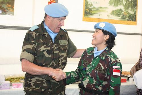 Wanita TNI dalam Misi Perdamaian PBB