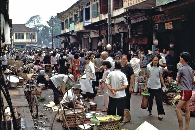 Cholon Market (1965) - đường Phù Đổng Thiên Vương
