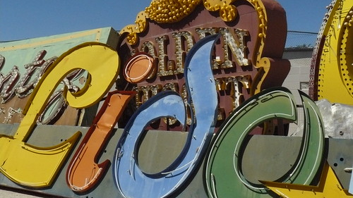 Lido de Paris neon sign. Neon Boneyard Las Vegas.