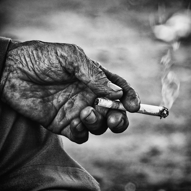 The Wait - Stunning Collection of Smoking Portraits