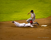Elvis Andrus safely steals second base by 512Photoz